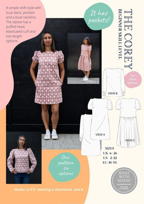 corey pattern front cover